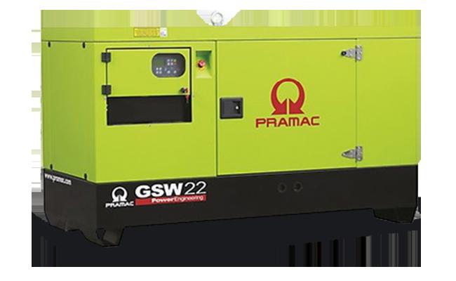 Gruppo Elettrogeno Pramac GSW 22Y