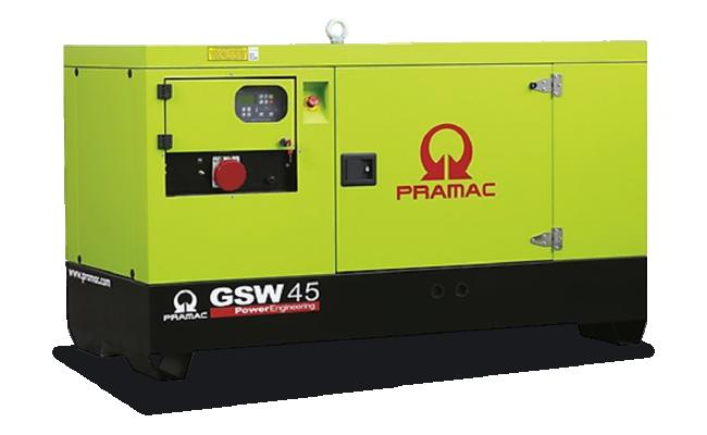 Gruppo elettrogeno Pramac GSW45